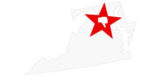 A map of Washington DC